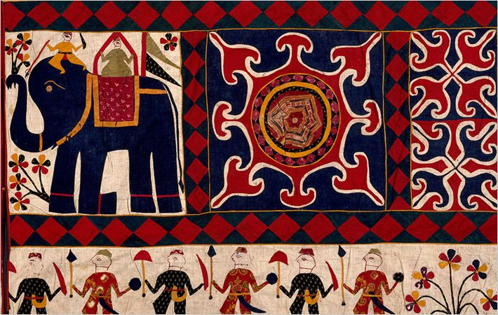 Wall hanging (detail), 20th century/C: V&A Museum, London