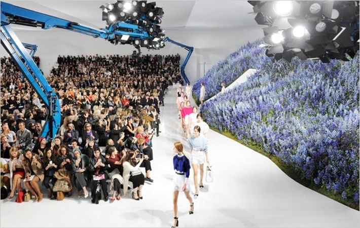 Dior S/S 2016 Ready-to-wear Fashion show/Courtesy: Dior