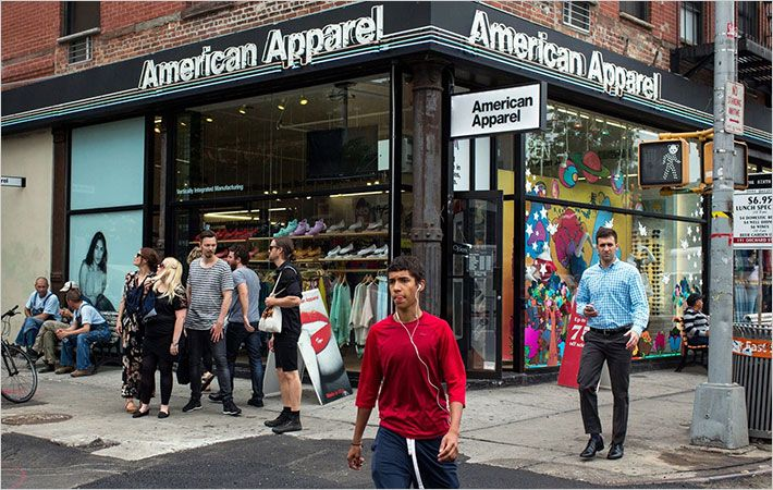 American Apparel ex-CEO tries to reclaim company