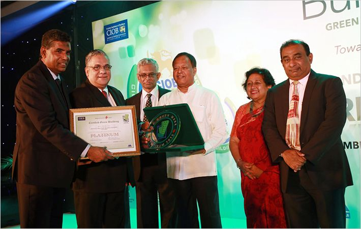 Brandix HQ bags Green Mark–Platinum certification