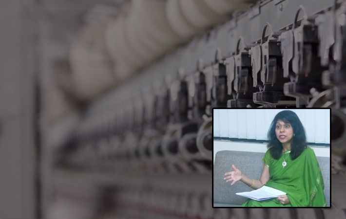 Kavita Gupta briefing the media/Courtesy: PIB Mumbai