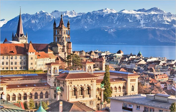 Lausanne, Switzerland/Courtesy: LT/ www.diapo.ch