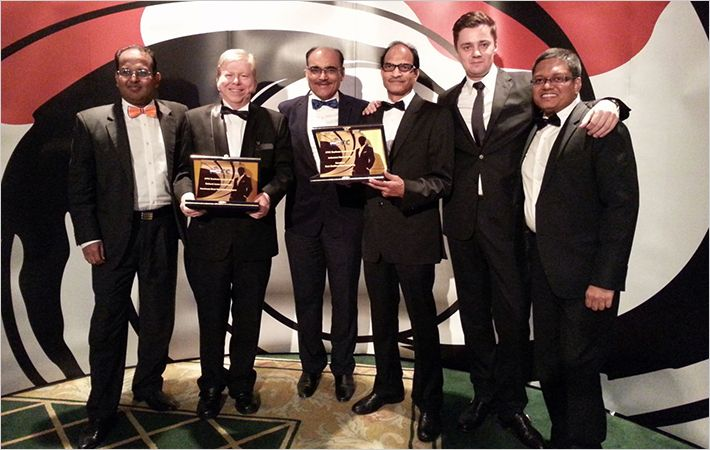 IVL wins prize at Thai Sustainability Report Awards 2015