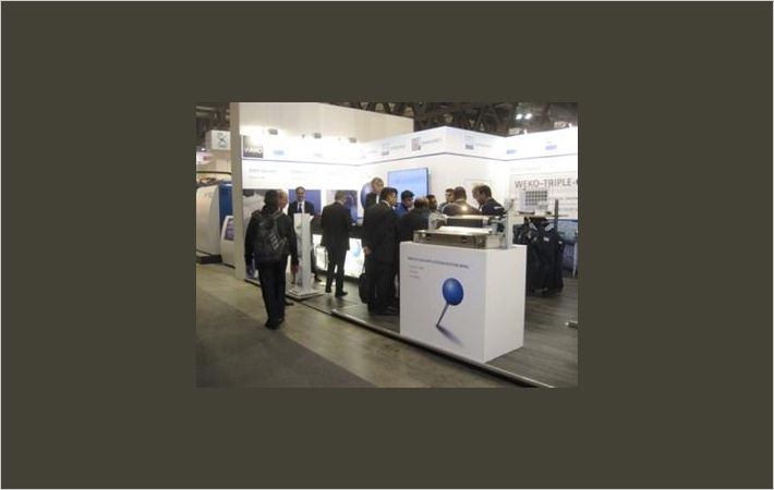 Weko booth at ITMA