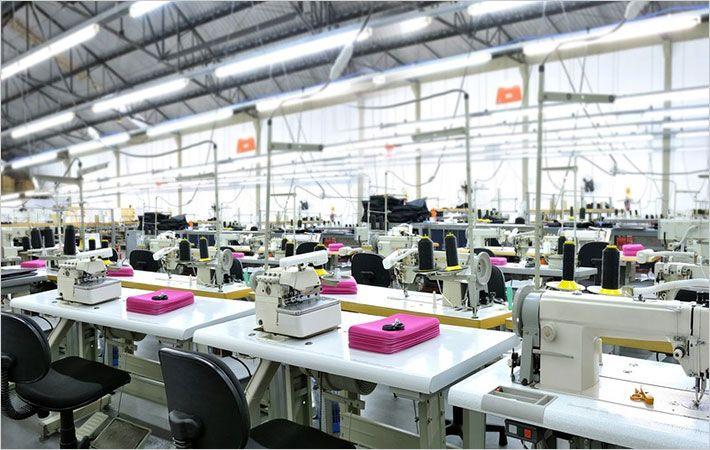 View of North Andaman Apparel factory