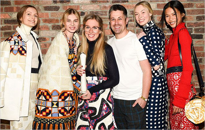 Teatum Jones bags  Womenswear Woolmark Prize