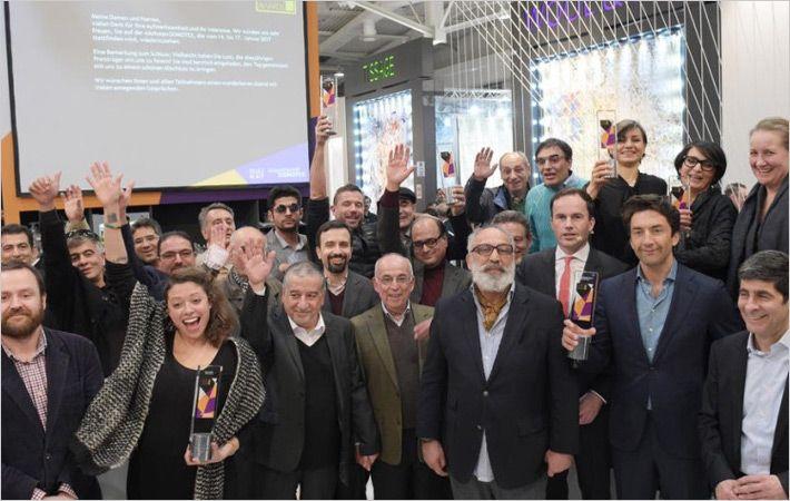 Carpet Design Awards given away at Domotex show