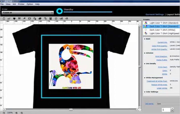 Epson unveils updated Garment Creator software