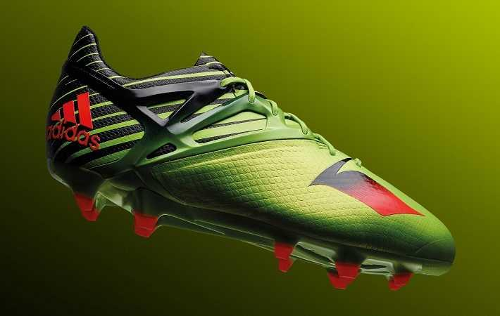 The Adidas Messi15 boot
