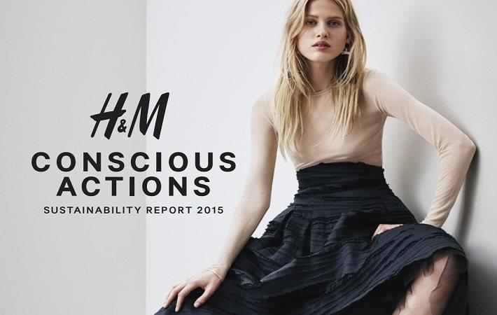 H&M's Sustainability Report 2015 shows progress