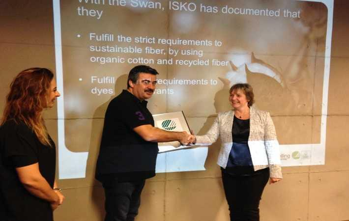 Nordic Swan Ecolabel recognises Isko Earth Fit