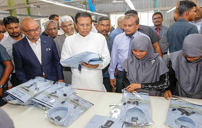 Courtesy: President.gov.lk