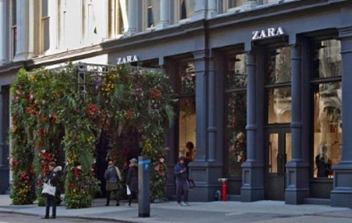 Zara opens flagship store in the heart of SoHo