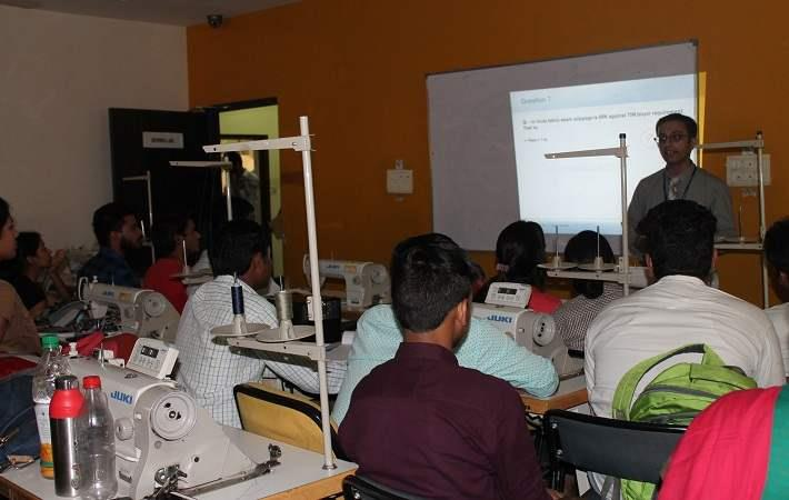 ATDC Gurgaon conducts fabric & garment testing workshop