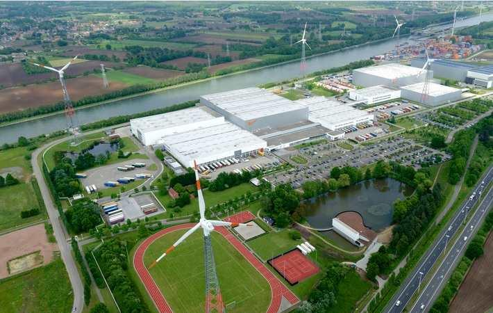 Nike expands European logistics campus in Belgium