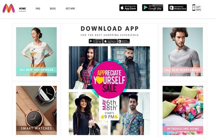 Myntra targets 90% sales increase in FY17