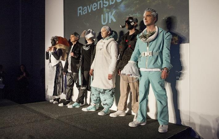 ESA 'Couture in Orbit' fashion show at London's Science Museum as a part of the museum's 'LATES' programme