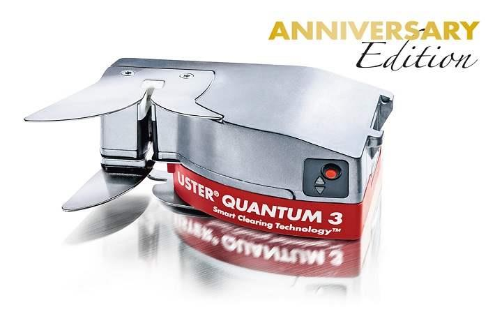 Uster Quantum 3 anniversary edition – yarn clearer and CCU (Central Control Unit)