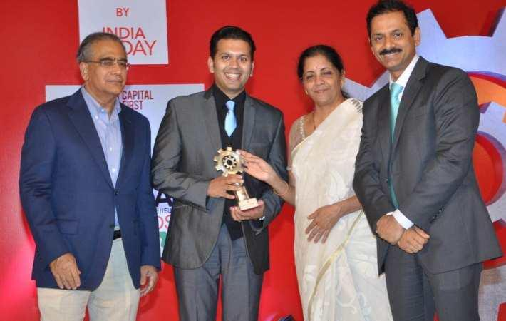 Viral Desai wins Make in India Emerging Entrepreneur Award