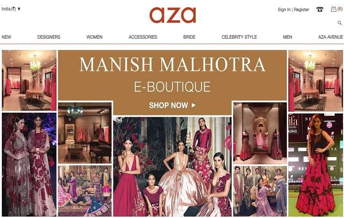 Manish Malhotra debuts E-Boutique on Azafashions.com