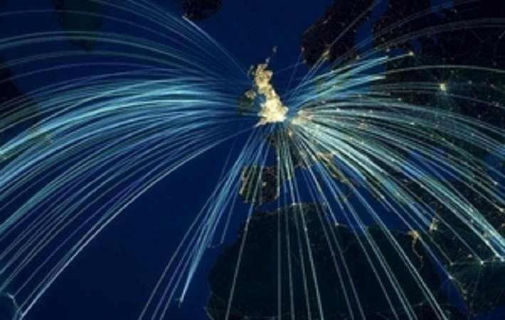 Map showing UK and rest of the world. Courtesy: UK government