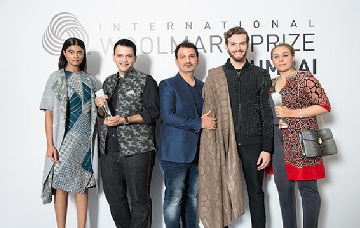 Designers Bounipun & Barve win Woolmark regional prize