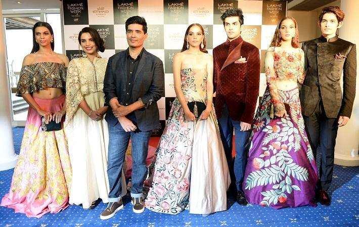India Manish Malhotra Associates With Etihad Airways At Lfw Fashion News India