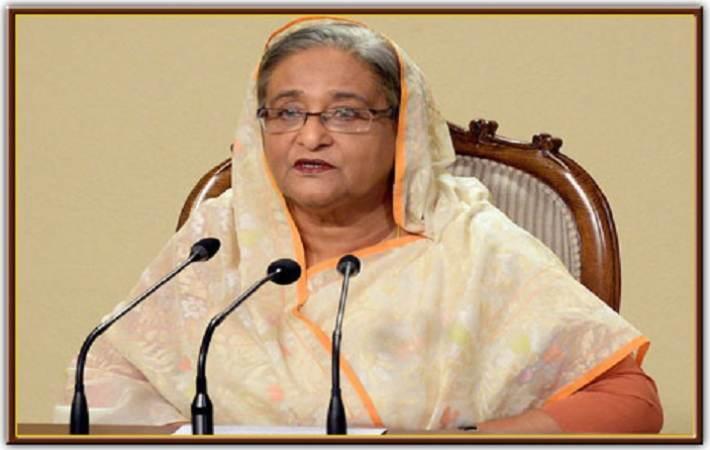 Bangladesh Prime Minister Sheikh Hasina. Courtesy: pmo.gov.bd