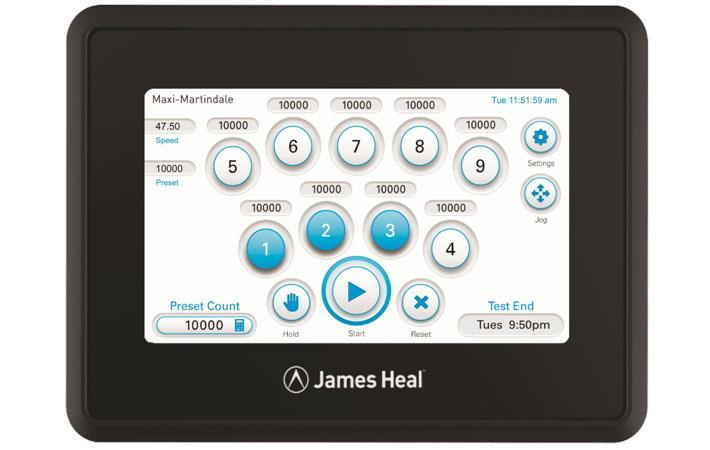 James Heal to show touchscreen systems at ITMA Asia