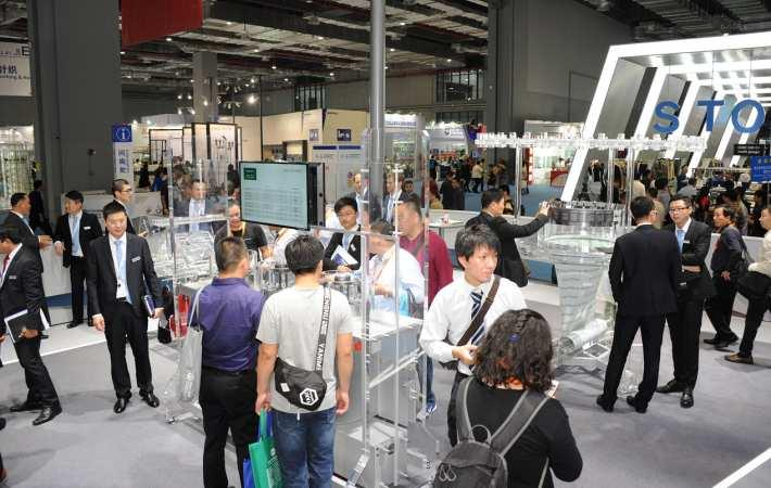 Groz-Beckert booth at ITMA Asia
