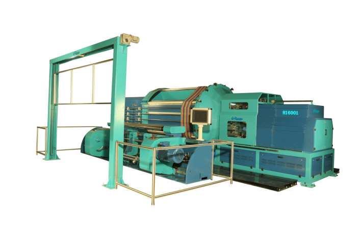 RI 6001 high speed sample warping machine