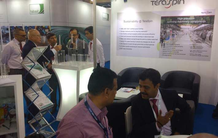 TeraSpin stall at India ITME 2016. Courtesy: ATE