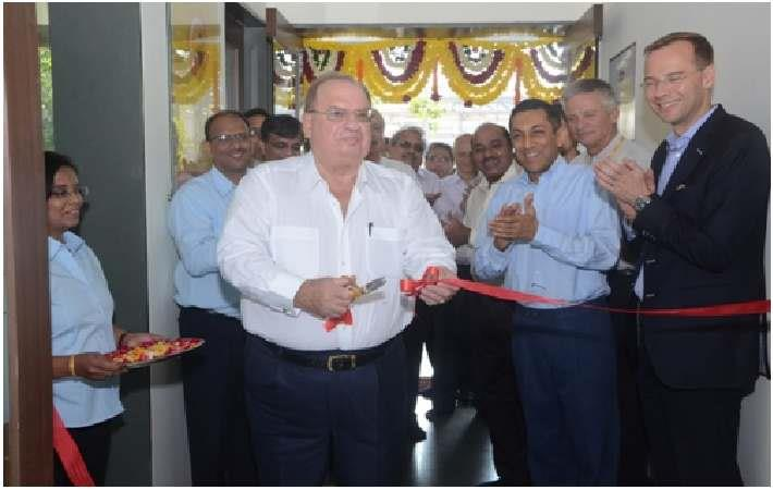 Wolfgang Schumann inaugurating RACL Application Development Centre. Courtesy: RACL