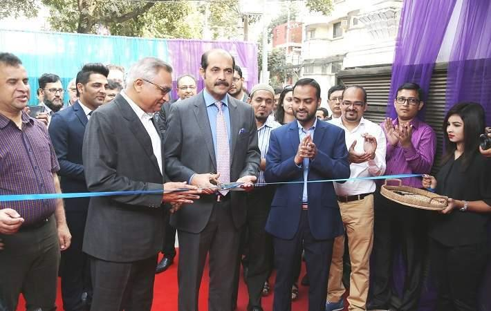 Inauguration of Xperience Zone in Dhaka, Bangladesh. Courtesy: DCC
