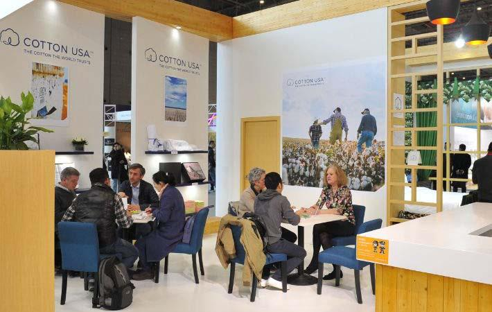 CCI shows US cotton textiles at Intertextile Shanghai expo