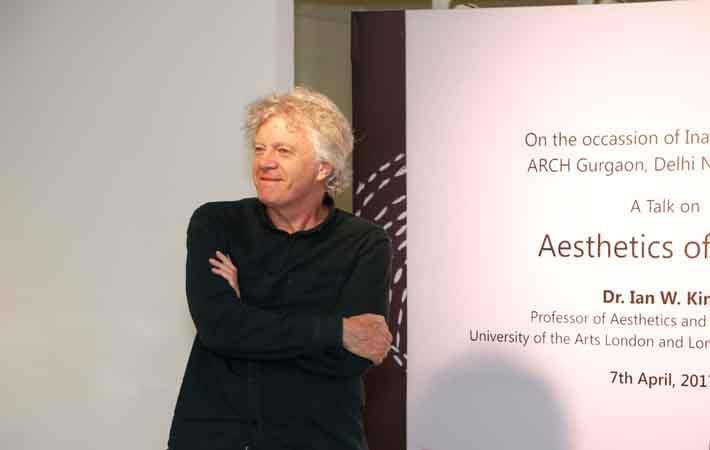 Dr Ian W King , Fashion Guru, London School of Fashion