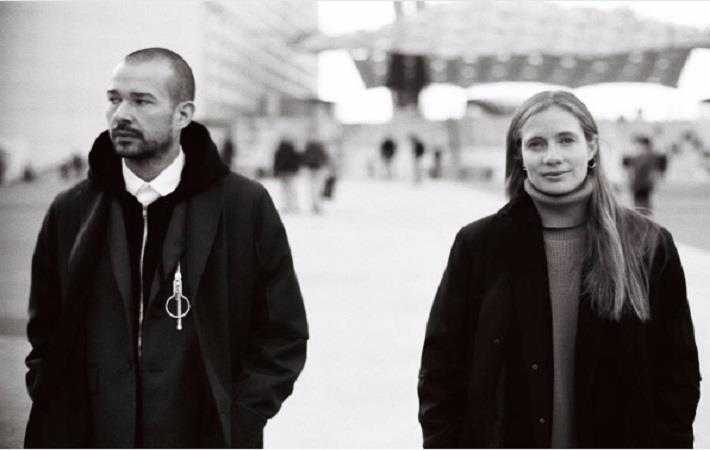Luke and Lucie Meier; Courtesy: Jil Sander/Instagram