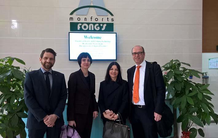 German textile professors visit Monforts' Monfongs factory