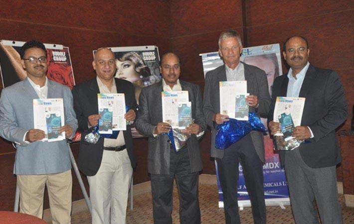 L-R: Partha Roy, manager-Kolkata region; Sanjay Sharma, regional manager-North; Dr G V G Rao managing director; Ulrich Hambrecht, board of director and Shekhar Singh, business head. Courtesy: RACL