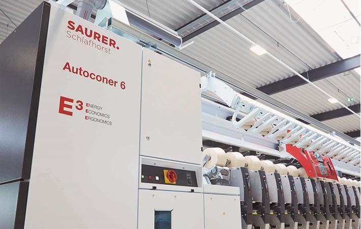 Schlafhorst launches 2.5 millionth Autoconer unit