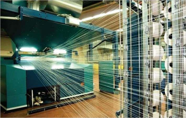 Greater Manchester is high on its textiles industry