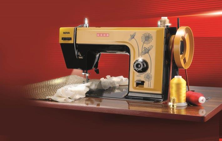 India Usha Launches Advanced Straight Stitch Sewing Machines Magnificent Usha Sewing Machine Service Center In Bangalore