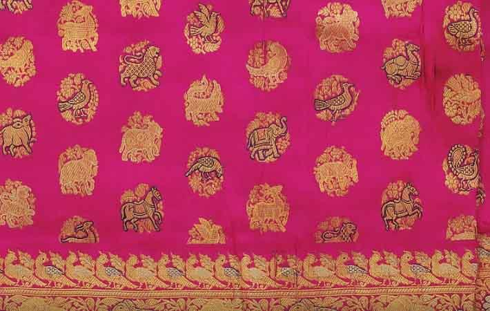 Banarasi saree from CSMVS; Courtesy: Google
