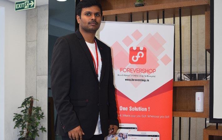 Shathyan Raja, president of ForeverShop; Courtesy: ForeverShop