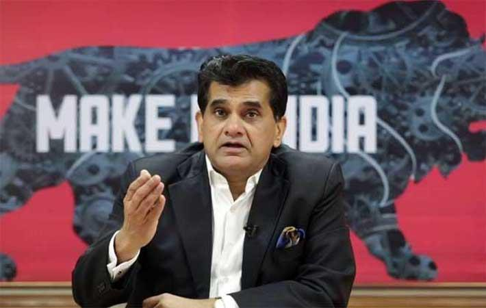 Niti Aayog CEO Amitabh Kant was speaking at the Entrepreneur India Congress 2017 Courtesy: PTI