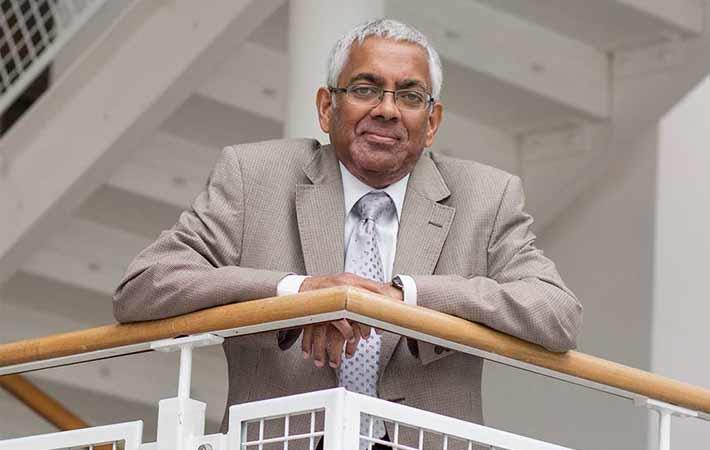 Professor Tilak Dias/Courtesy: Nottingham Trent University