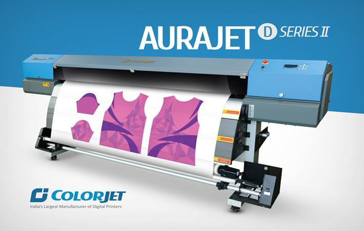 Colorjet to launch dye sublimation printer at Gartex 2017