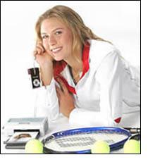 Maria Sharapova Nike all-round personality