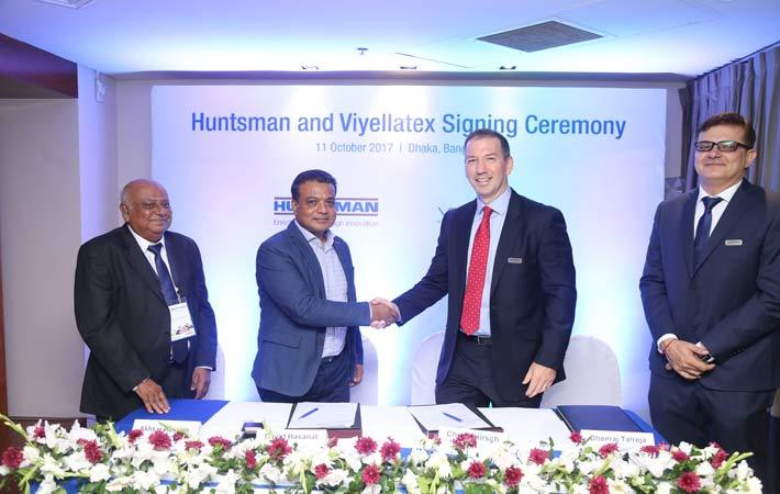Huntsman & Viyellatex extend partnership for two years