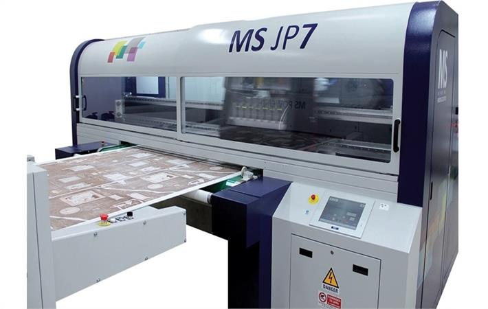 MS JP7 digital textile printer; Courtesy: Orange O Tec